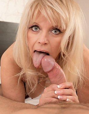 Mature Tongue Photos