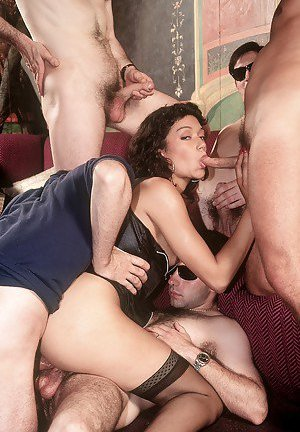 Gangbang Mature Photos