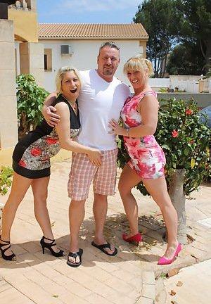 Mature Threesome Photos