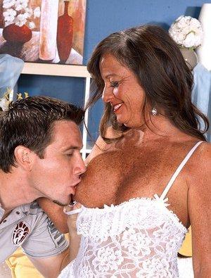Sucking Tits Mature Photos