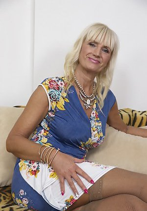 Blonde Mature Photos
